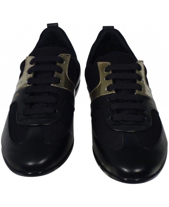 Versace Shoes Casual Metalic Logo Trim