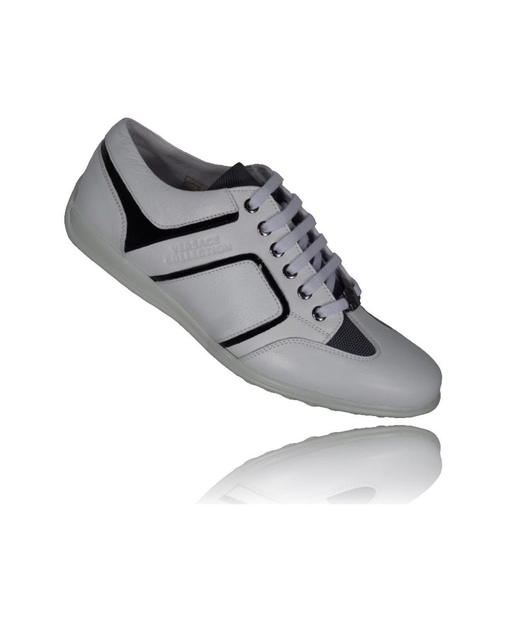 Versace Shoes Lace Up Sneakers
